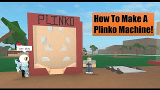 How To Make A Plinko Machine! Lumber Tycoon 2