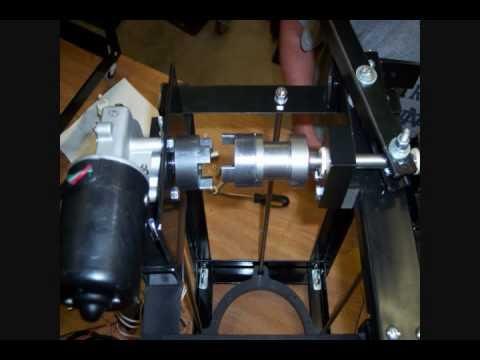 Mechanical Assist Basketball Launcher