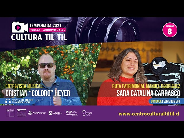 Podcast Audiovisuales Cultura Til Til - Capitulo 8