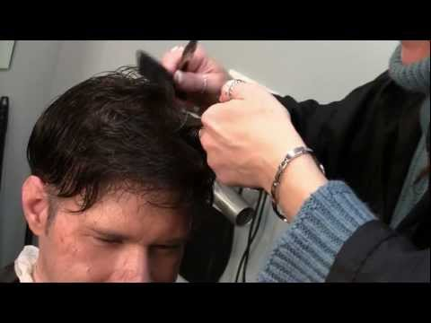 Hair System Cut-In Demonstration - Hair Direct