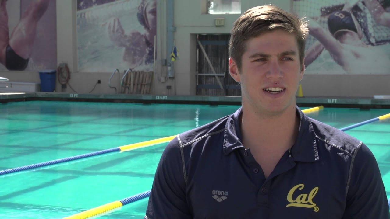 Cal Men s Swimming Bio Trent Williams