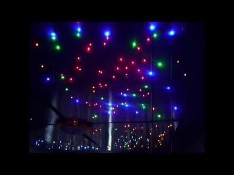 DIY Doehetzelf Budget LED Sterrenhemel Starry sky voor