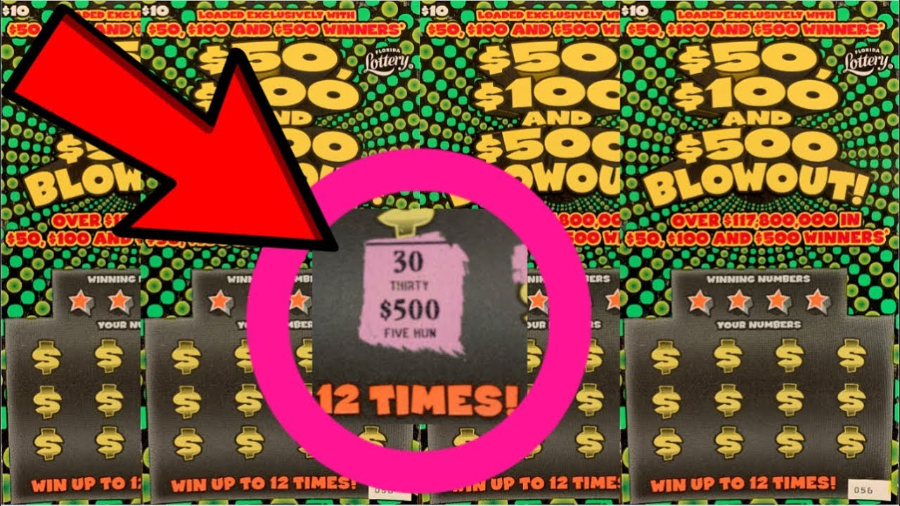WHICH SCRATCH OFFS WIN THE MOST    ? BLOWOUT LOTTERY TICKETS!