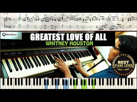 Greatest Love of All  Piano Tutorial Sheet Music Guide