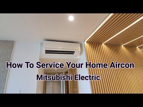 How to clean your Mitsubishi starmex aircon. #aircon #DIY