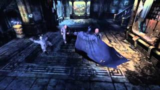 Batman arkham city side missions all titan container locations (Xbox 360 gameplay)