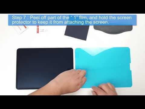 Paperlike IPad Pro Screen Protector Film Installation Video