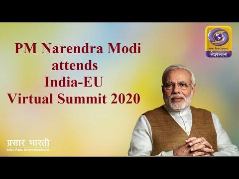 PM Narendra Modi attends India-EU Virtual Summit 2020