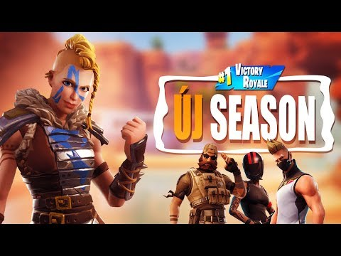 ÚJ SEASON! | ELEMZÉS/GAME! | SEASON 5! (Fortnite Battle Royale)
