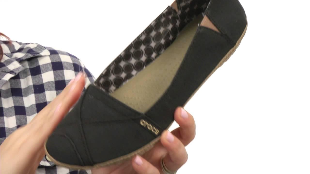 variety design amazing selection recognized brands Crocs Angeline Flat SKU:#8259072