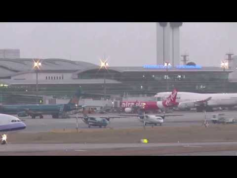 18-03-2014 (2) 747 Lufthansa / Dassault Falcon 7x / King Air 350 / A-340 China / A-330s / 777s