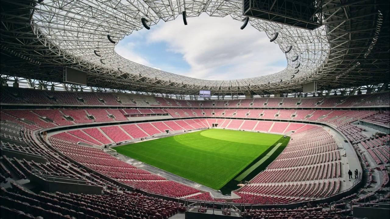 Puskas Arena, Budapest - Europa League Final 2022 - YouTube