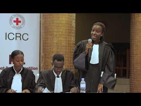 Rwanda IHL Moot court competition 2019 UoK vs INES Ruhengeri