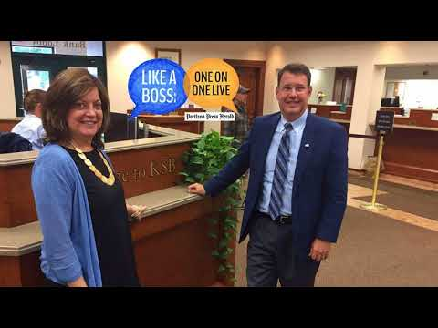 Like A Boss: Andrew E. Silsby, President and C.E.O. of Kennebec Savings Bank