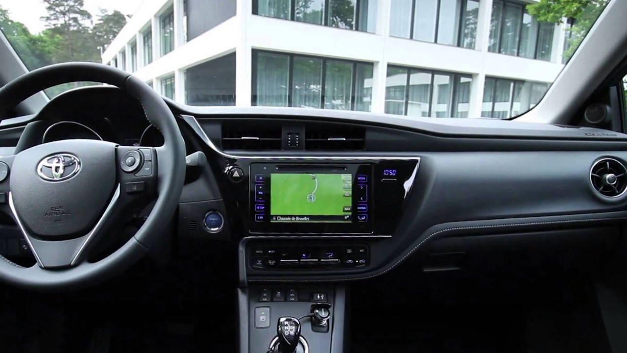 2016 Toyota Auris Interior Youtube