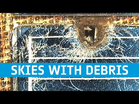Astronaut Samantha on sharing the skies with debris