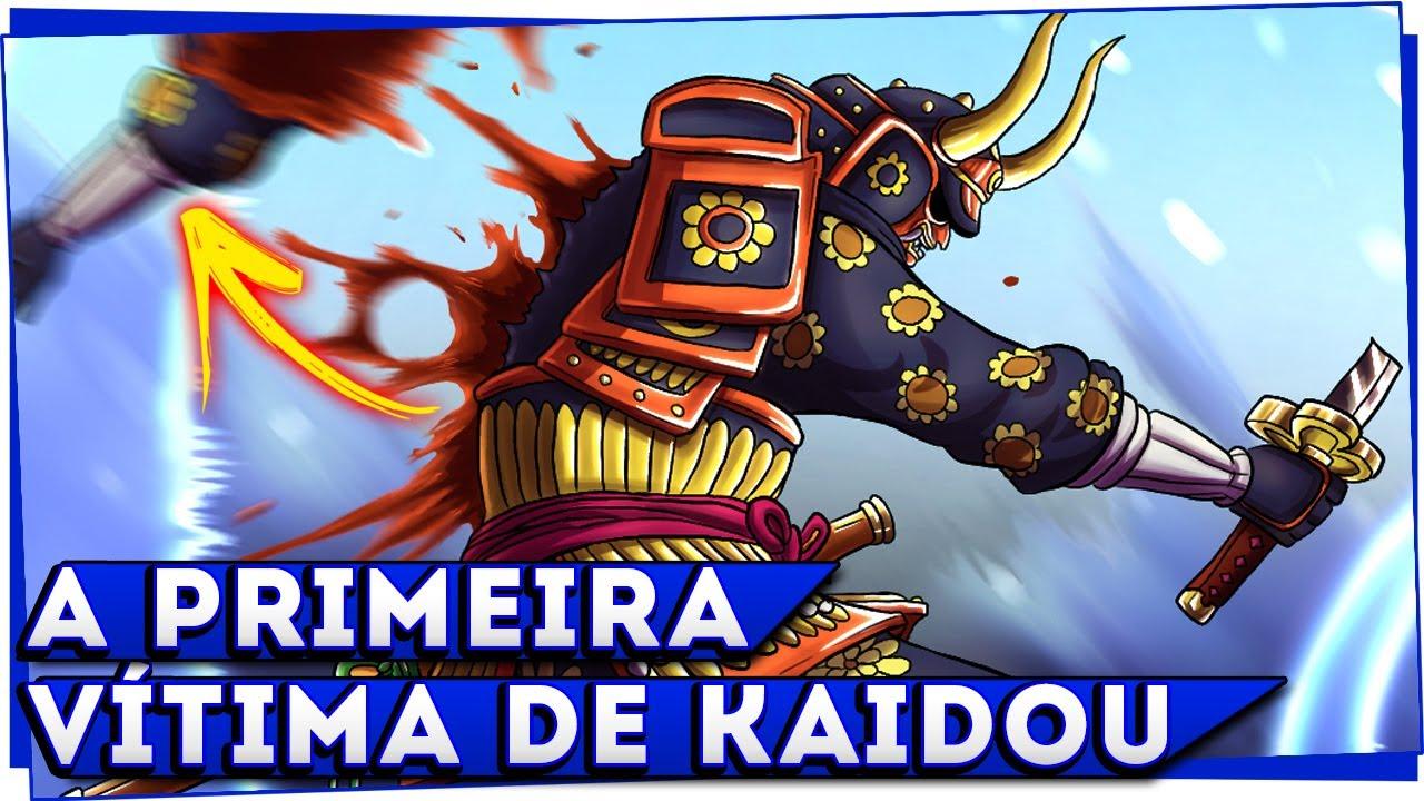 KAIDOU COMEÇA A BOTAR OS SAMURAIS DE WANO PRA MAMAR