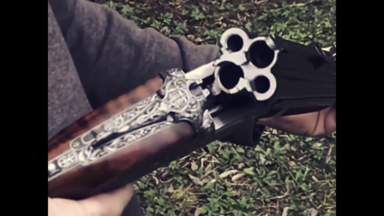 the oddly fascinating johann fanzoj 4 barrel combination gun youtube