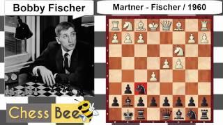 Martner Vs  Bobby Fischer - Chess game