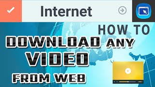 How to Download Video from any site using Chrome and Firefox