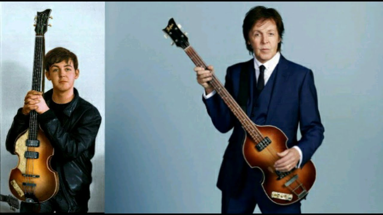 Paul McCartney Photo Comparison 1961 2013