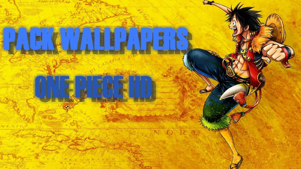 Pack Wallpapers De One Piece Full Hd 2018 Español