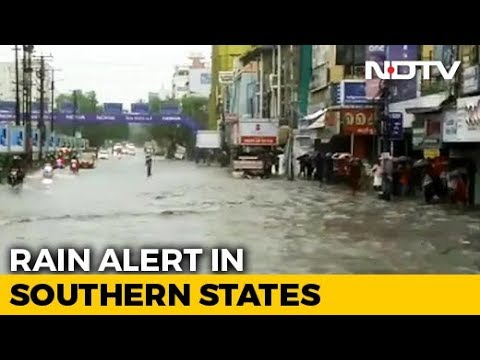 Rain Hammers Karnataka, Red Alert In Parts Of Kerala