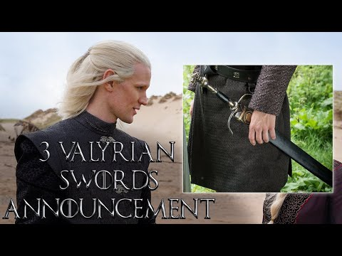 Download Game of Thrones Prequel: 3 Valyrian Steel Swords Announcement (HBO) | House of the Dragon