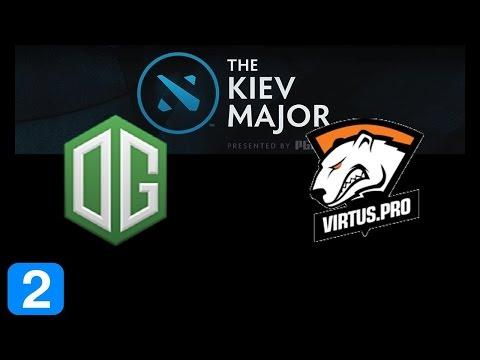 OG vs VP Game 2 Grand Final Kiev Major Highlights Dota 2