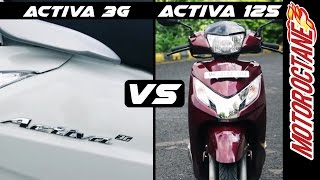 Honda Activa 3G vs Activa 125 Comparison | Hindi