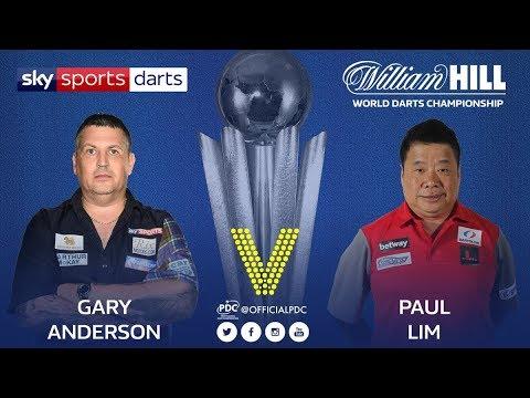 2018 World Darts Championship Round 2  G.Anderson vs Lim