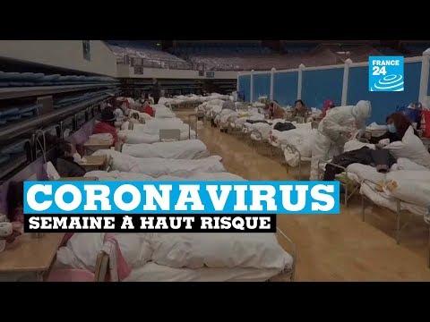 Coronavirus: plus de 900 morts, semaine à haut risque
