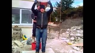 Cement bag prank compilation (Men at work)
