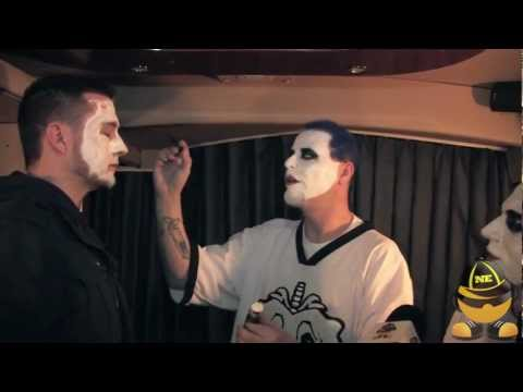 Twiztid How To Properly Apply Juggalo Face Paint