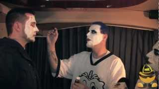 Twiztid:  How to Properly Apply Juggalo Face Paint