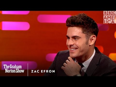 Zac Efron Can Seriously Work A Pole  The Graham Norton