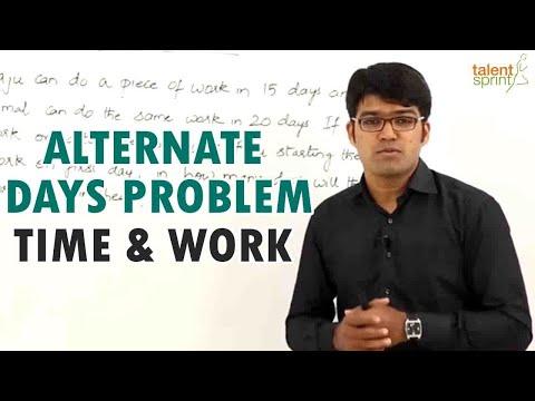 Alternate Days Problem - Time & Work || IT Careers