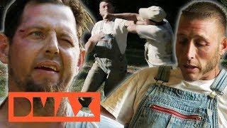 Wutausbruch: Bill und Josh prügeln sich?!   Moonshiners   DMAX Deutschland
