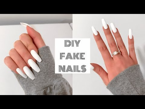 HOW TO DO ACRYLIC NAILS AT HOME FOR BEGINNERS! | Fake Nails Under $30!