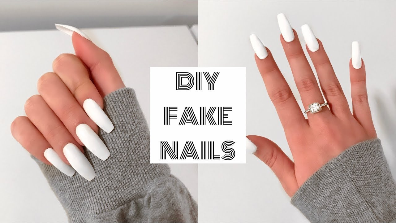 How To Do Fake Nails At Home For Beginners Acrylic Under 30