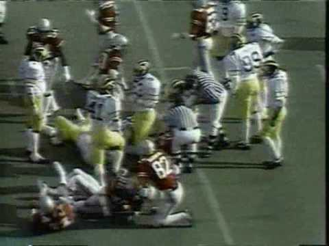 1980: Michigan 9 Ohio State 3