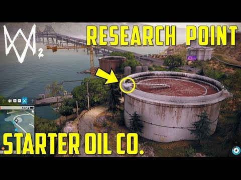 Research Point | Starter Oil Co. | Oakland | Watch Dogs 2