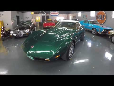 1973 Corvette Stingray Convertible - Blue-Green/Black, 22,280 Miles - Seven Hills Motorcars