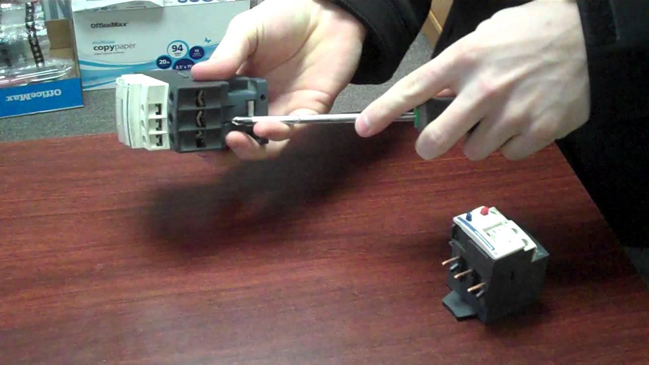 telemecanique reversing contactor wiring diagram [ 1280 x 720 Pixel ]