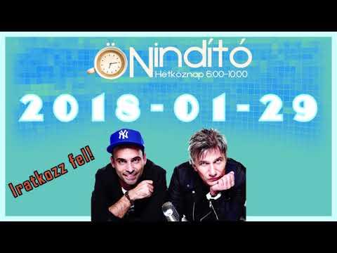 Music FM Önindító 2018 01 29 Hétfő