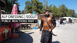 Wearing Alp uniform in Sogut |…