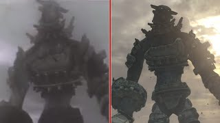 Shadow of the Colossus TGS Trailer Visual Comparison: 2005 vs. 2017