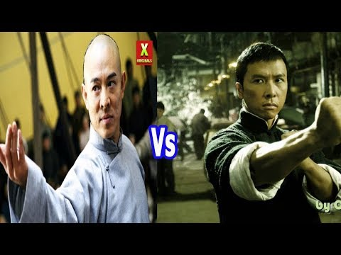 Jet Lee VS Donnie Yen--Chen Zhen