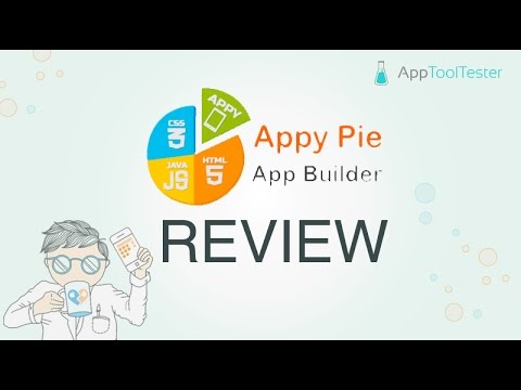 AppyPie Review - A tasty app maker?