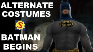Alternate Costumes - Batman Begins
